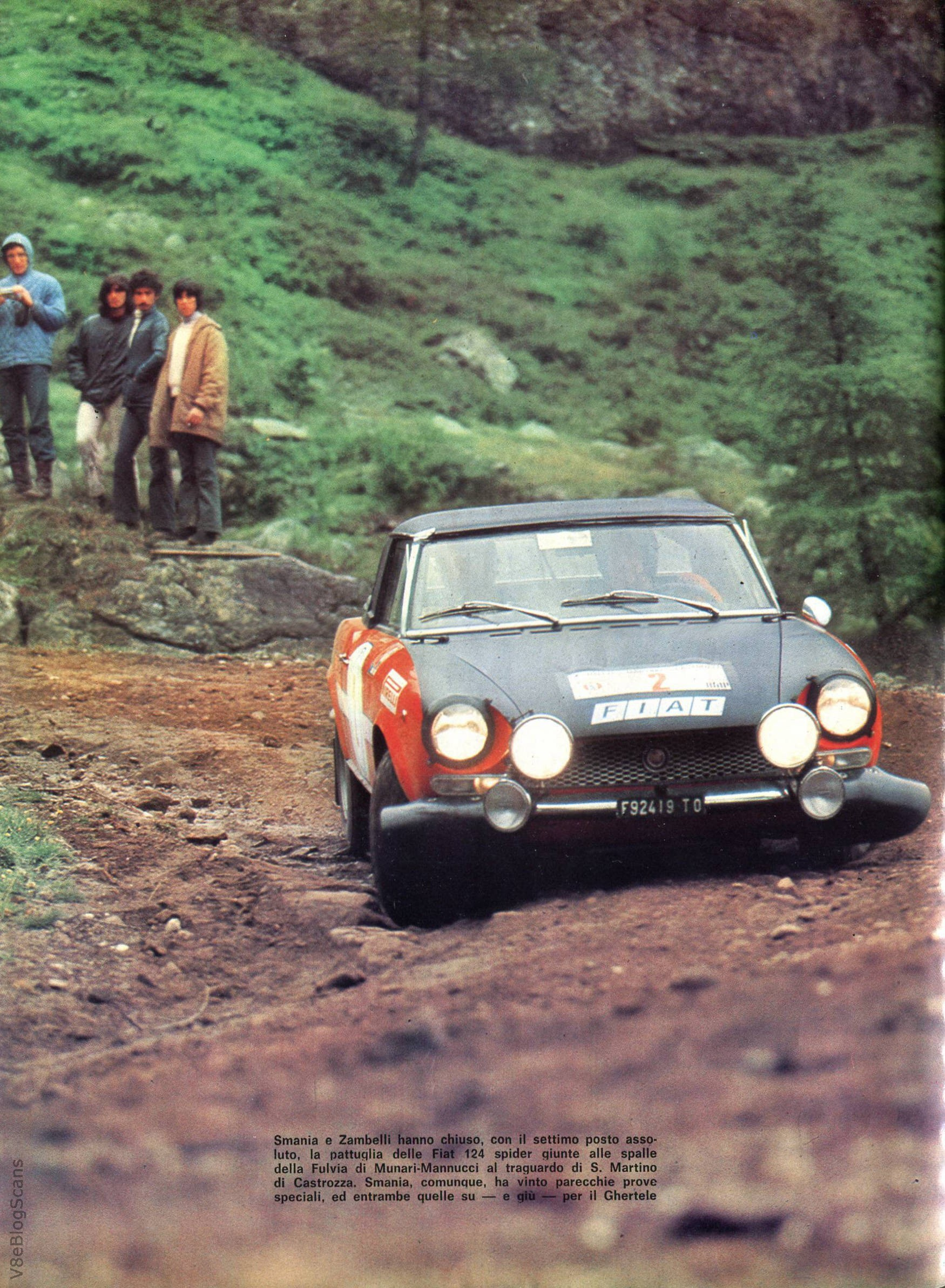As on 1973 Alfa Romeo Spider
